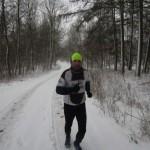 Lars Jensen på skovtur