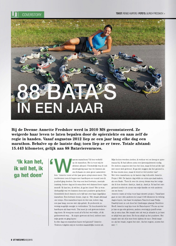 Holland - UT Nieuws Magazine April 2015